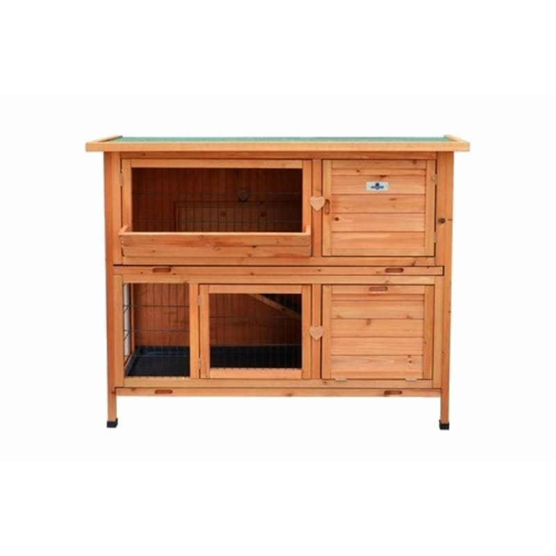 Confidence Pet 4ft Deluxe Rabbit Hutch