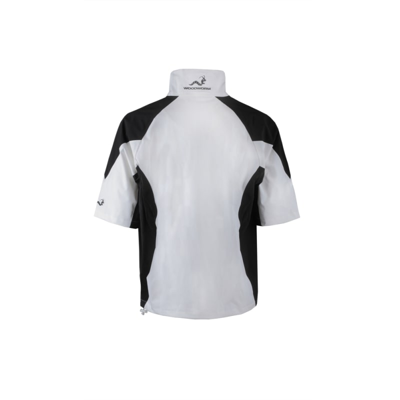 Woodworm Golf V2 Waterproof Half Sleeve Top White #
