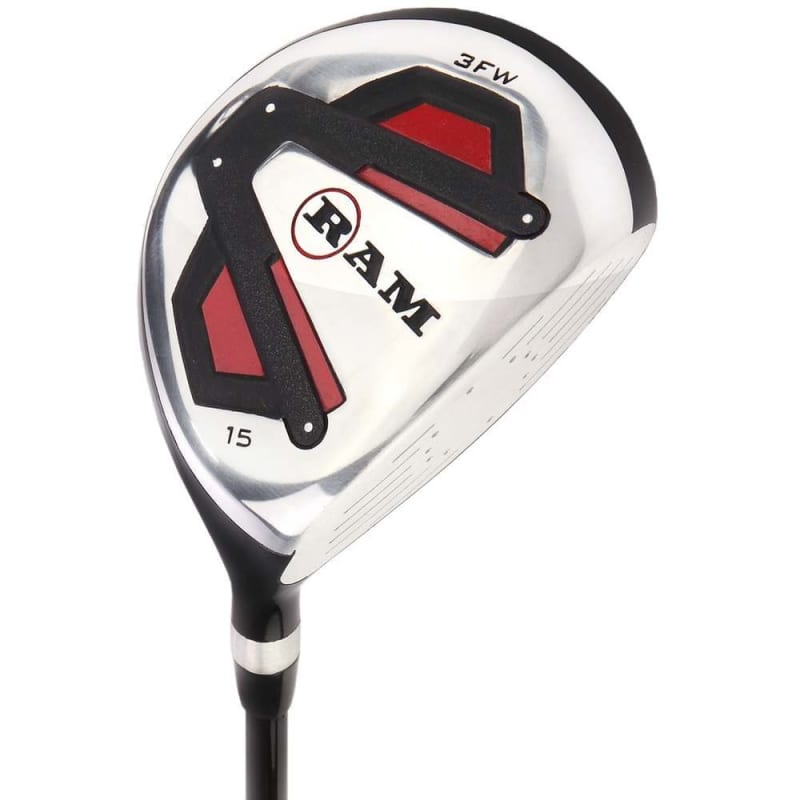 Ram Golf Accubar Golf Clubs Set - Graphite Shafted Woods and Irons - Mens Right Hand #2
