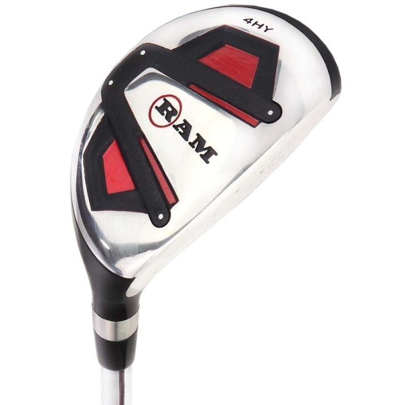 Ram Golf Accubar 12pc Golf Clubs Set - Graphite Shafted Woods, Steel Shafted Irons - Mens Right Hand #2