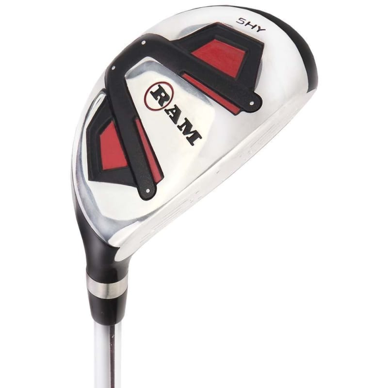 Ram Golf Accubar 16pc 1 Inch Longer Golf Clubs Set - Graphite Shafted Woods, Steel Shafted Irons - Mens Right Hand #3