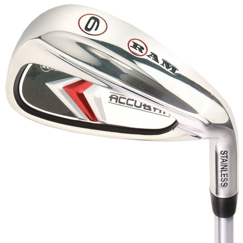 Ram Golf Accubar 1 Inch Longer Golf Clubs Set - Graphite Shafted Woods, Steel Shafted Irons - Mens Right Hand #4
