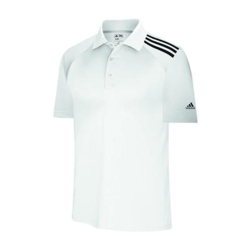 Adidas ClimaCool 3 Stripes Soft Jersey Polo