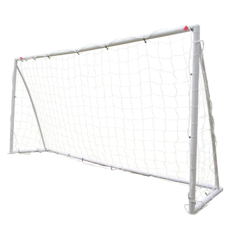 EX-DEMO Woodworm 8' x 4' Portable Plastic Football Goal Posts