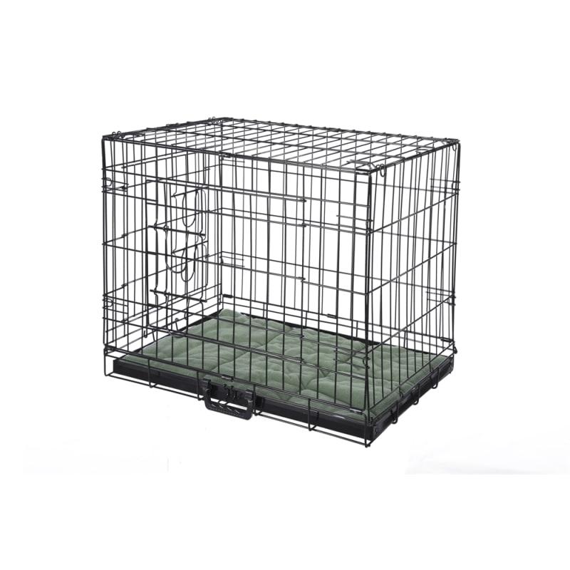 EX-DEMO Confidence Pet Dog Crate with Bed - Medium