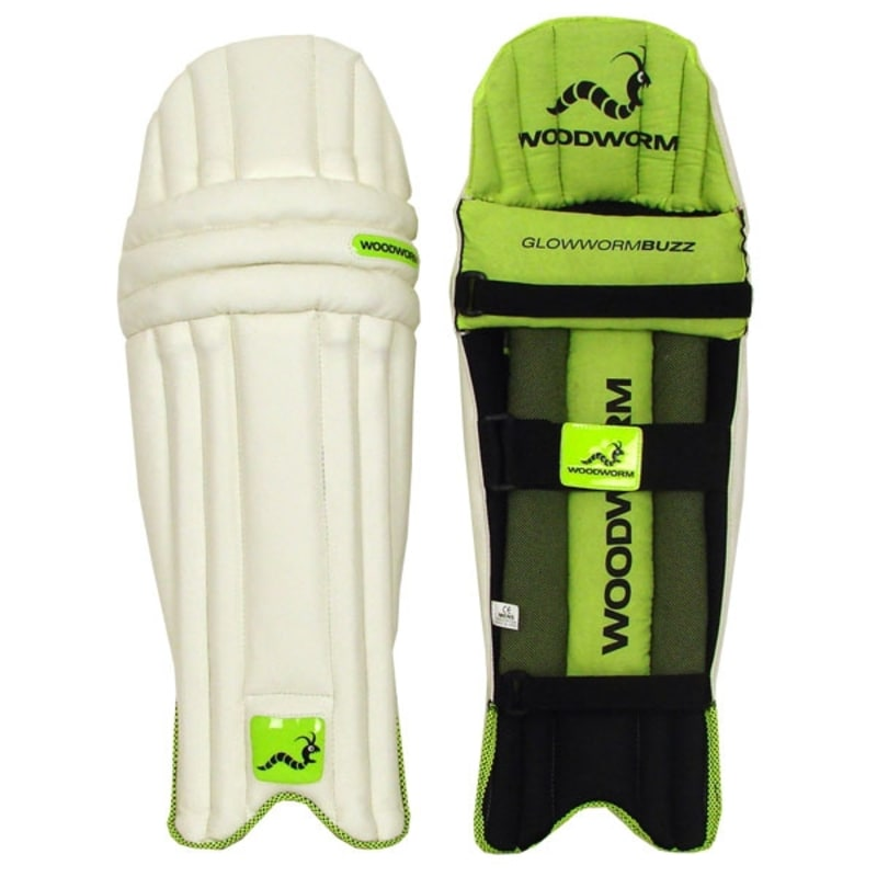 Woodworm Cricket Glowworm Buzz Junior Batting Pads