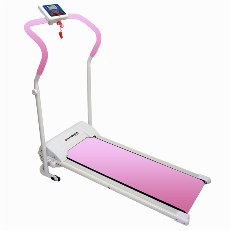 Ex-Demo Confidence Power Plus Motorised Treadmill Pink