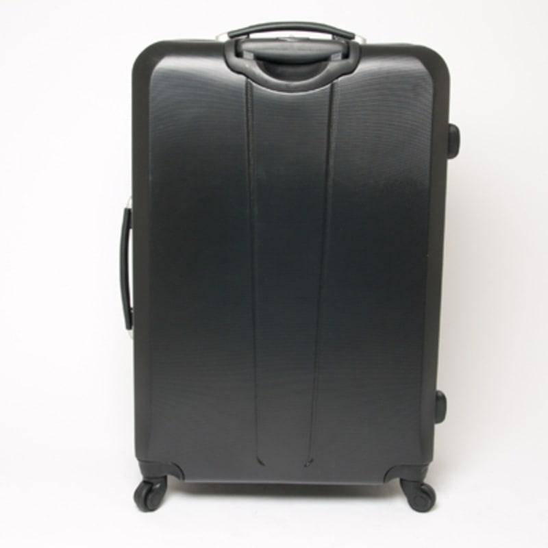 "OPEN BOX Swiss Case Diamond Black 28"" 2 PC Spinner Luggage #2"