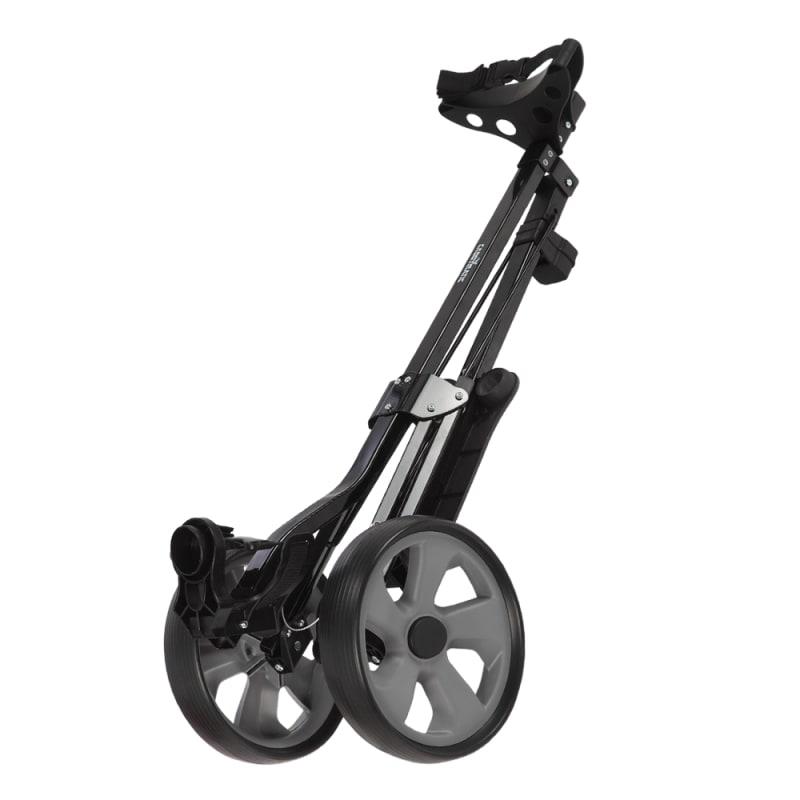 Caddymatic Golf Lite Trac 2 Wheel Folding Golf Cart Black #1