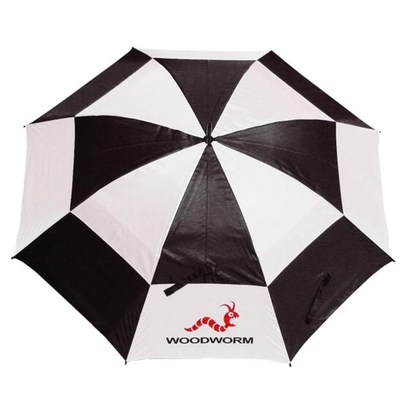 "3x Woodworm Double Canopy 60"" Golf Umbrellas #3"