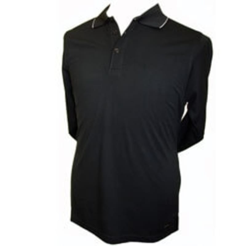Confidence Long Sleeve Polo Shirt