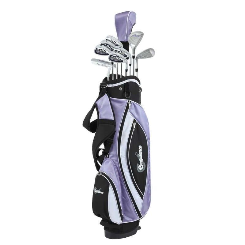 Confidence Golf Petite Lady Power V3 Club Set & Stand Bag #