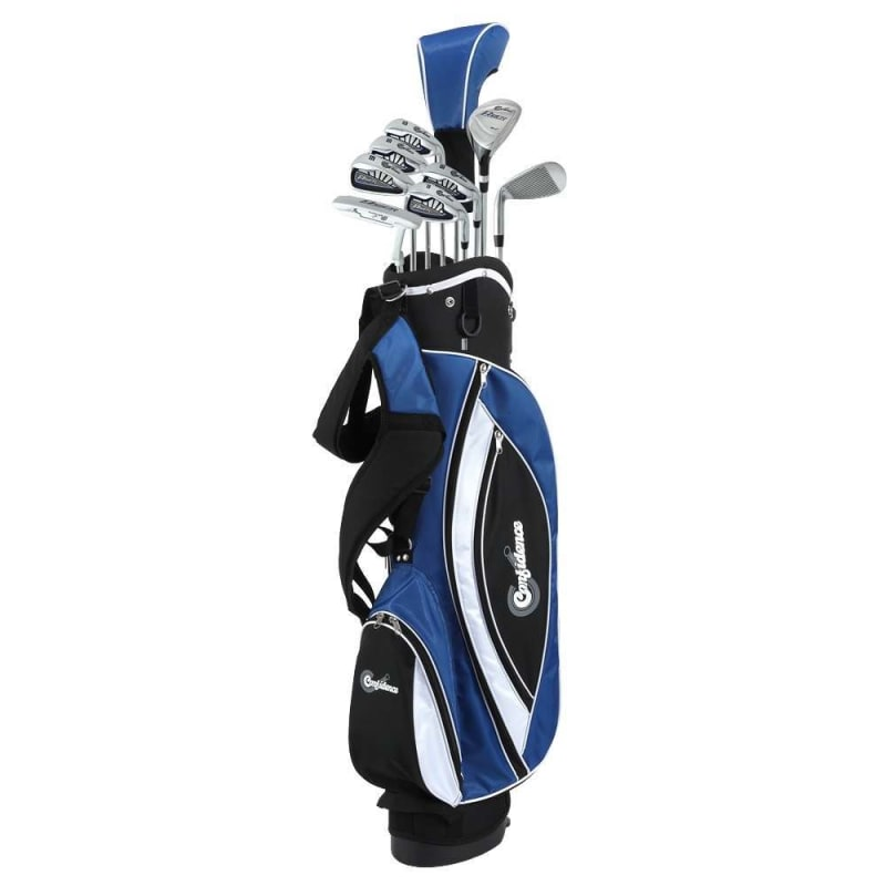 Confidence Golf Power V3 Teen -1 Inch Club Set and Stand Bag #