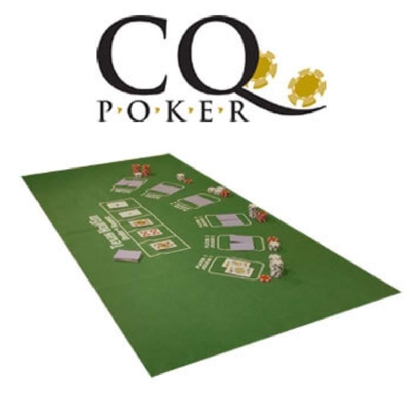 CQ Poker and Black Jack Table Cloth Felt