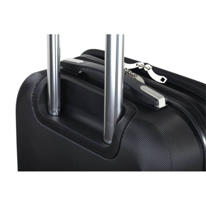 "Swiss Case 20"" ABS 4 Wheel Suitcase W/ Zip Pocket #2"