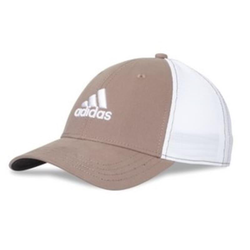 Adidas Mens Flyer 4.0 Golf Cap - Khaki / White