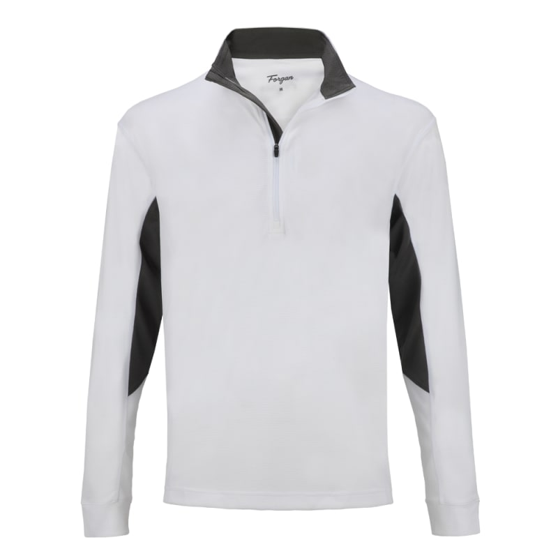OPEN BOX 2 PACK Forgan of St Andrews Men's Golf Pullover 1/4 Zip Top #