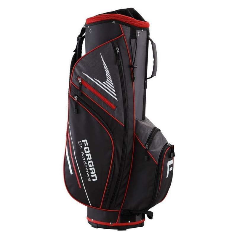 OPEN BOX Forgan of St Andrews Super Lightweight Golf Cart Bag with 14 Club Dividers #