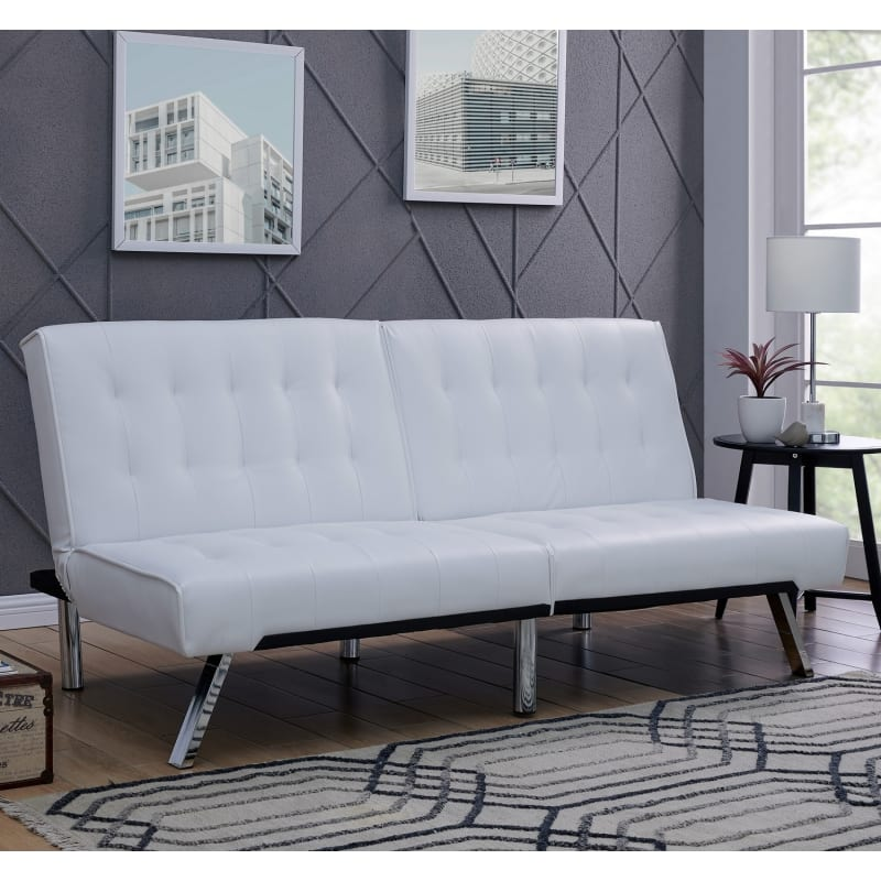 Homegear Furniture Futon Sofa Bed Split Back Couch #1