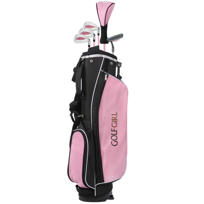 OPEN BOX Golf Girl Pink V2 Junior Set inc Bag - Right Hand Ages 8-12 #