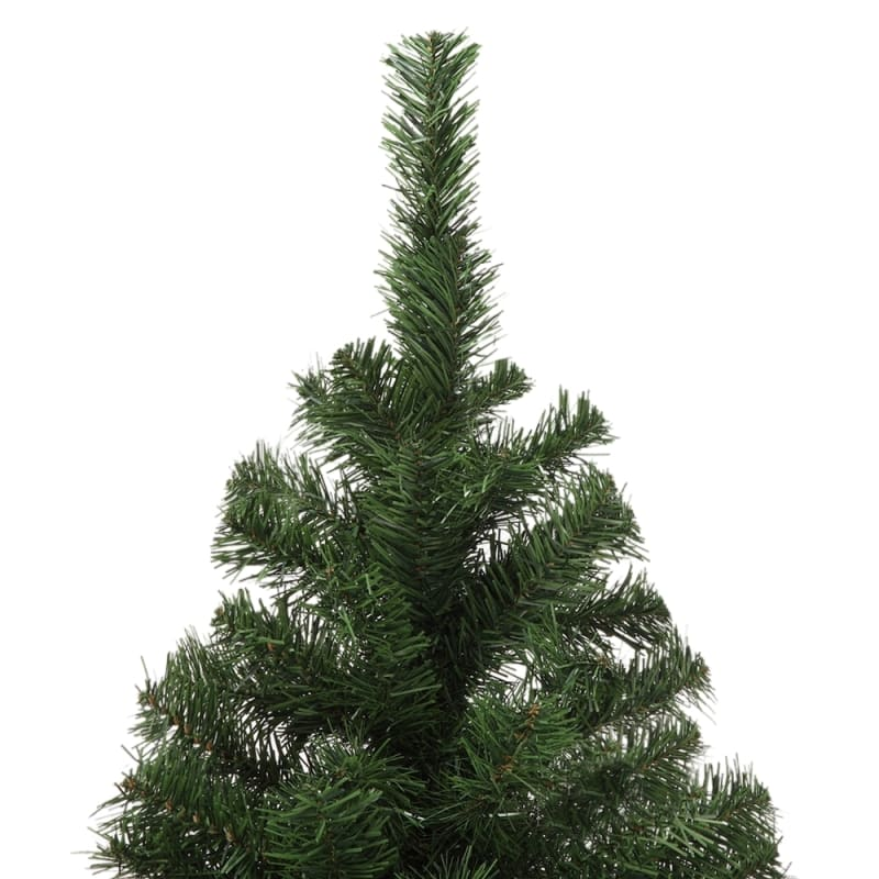 Artificial Christmas Tree Box.Open Box Homegear Luxury 1000 Tip 6 Foot Artificial Christmas Tree With Metal Stand