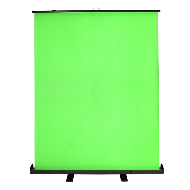 Homegear Portable Pull Up Green Screen Video Photography Background 5ft x 6ft