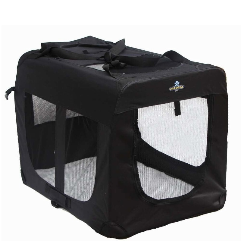 Ex-Demo Confidence Pet Portable Folding Soft Dog Crate - Large