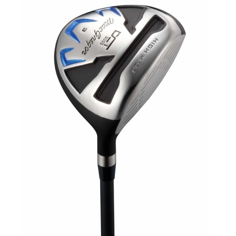 MacGregor Golf DCT3000 Premium Mens Golf Clubs Set, Graphite/Steel, Stiff Flex, Right Hand, Cart Bag #2