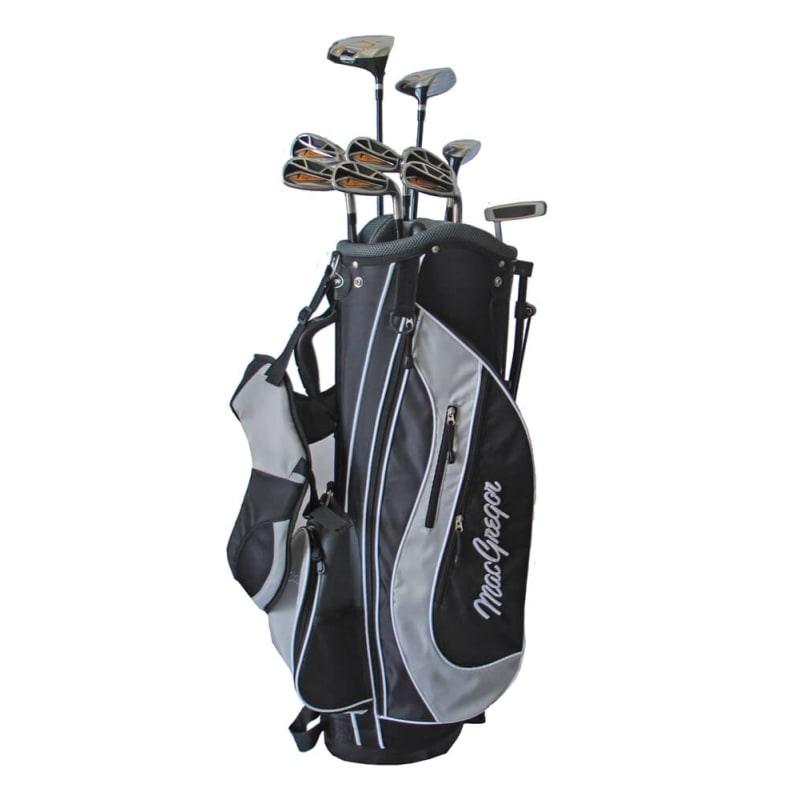 Macgregor DX Mens Graphite/Steel Package Set