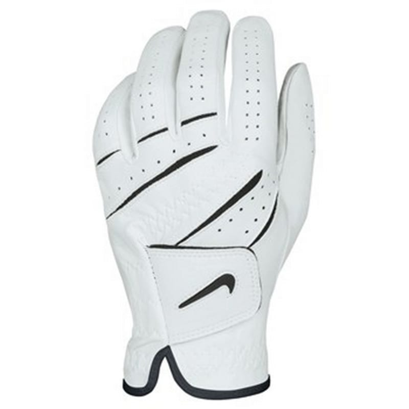 germen interrumpir Meloso  Nike Tour Classic Left Hand Golf Glove - White/Black just £12.99 - Mens Golf  Gloves - Right Handed Players at Shop247.co.uk