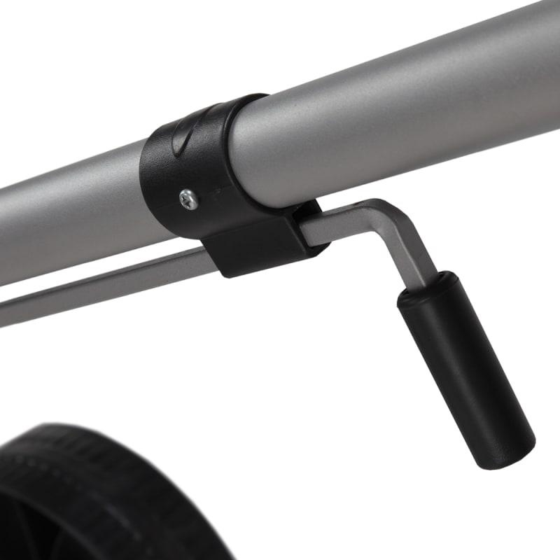 North Gear Heavy Duty Wheeled Dual Grip Snow Pusher / Snowplow #4