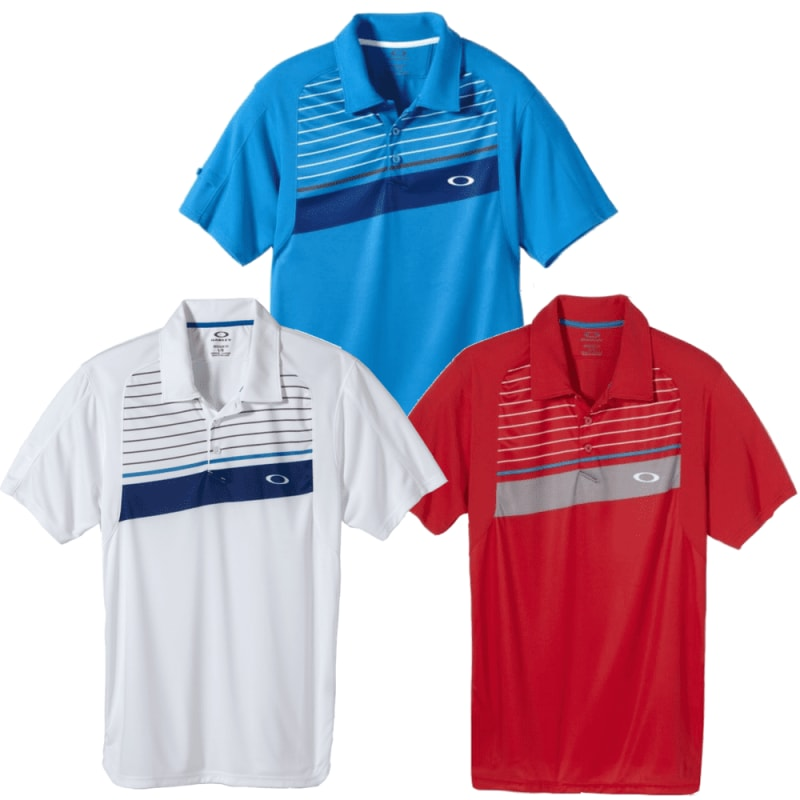 Oakley Cool Down Polo Shirt 3 Pack Small