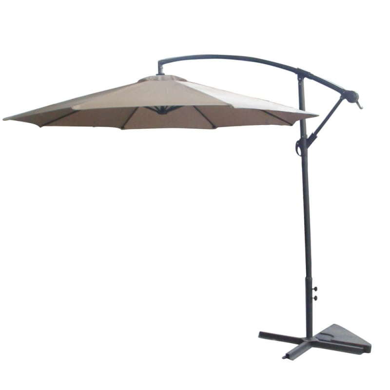 Palm Springs 3.5m Cantilever Patio Umbrella- Beige