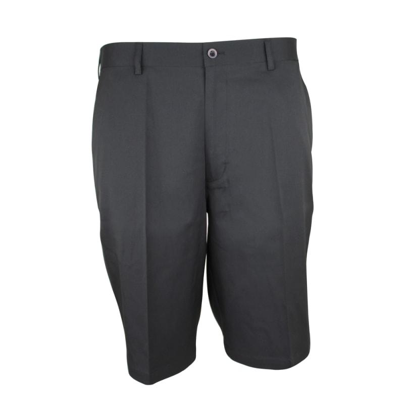 Palm Springs DryFit Flat Front Golf Shorts Black