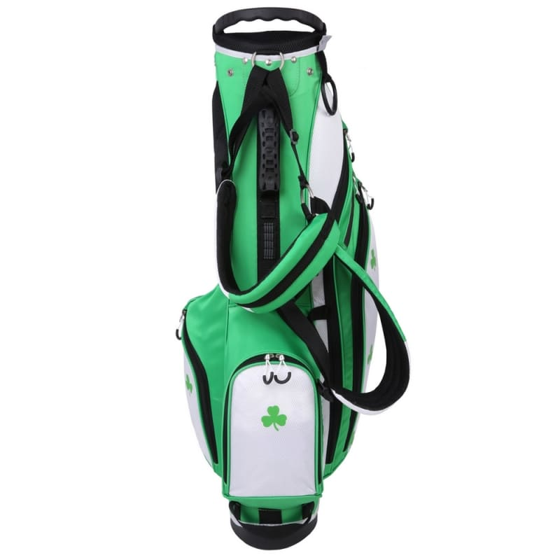 "Prosimmon Golf DRK 7"" Lightweight Golf Stand Bag with Dual Straps - Irish #2"