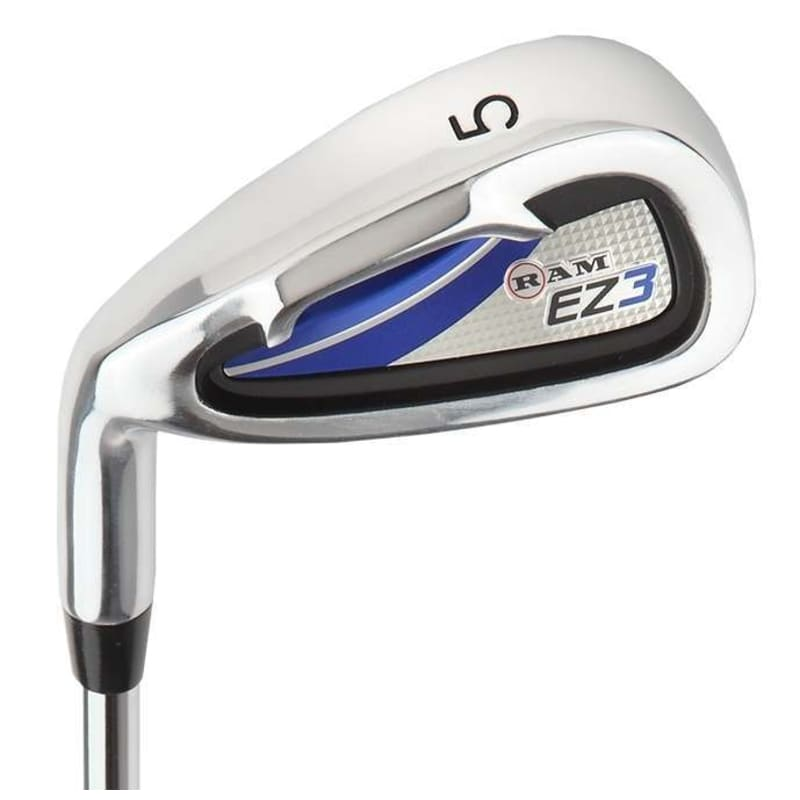 Ram Golf EZ3 Mens Left Hand Iron Set 5-6-7-8-9-PW - FREE HYBRID INCLUDED #1