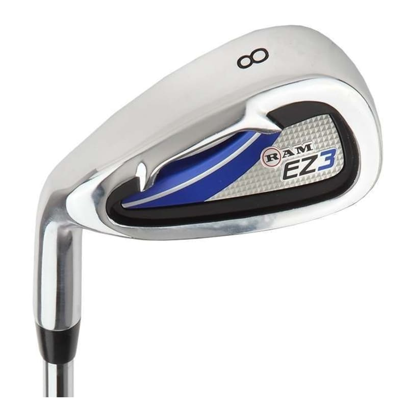 Ram Golf EZ3 Mens Left Hand Iron Set 5-6-7-8-9-PW - FREE HYBRID INCLUDED #4