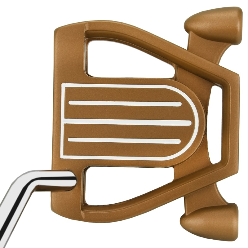 Ram Golf Laser Model 1 Putter with Advanced Perimeter Weighting - Copper #