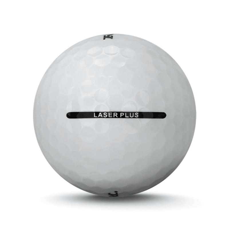 24 RAM Golf Laser Spin Golf Balls - Whit