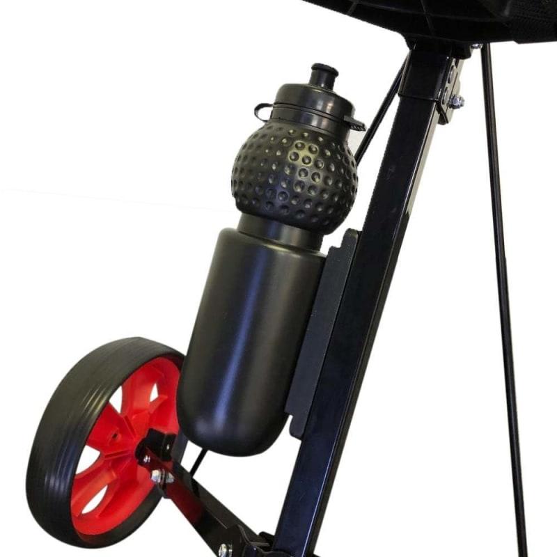 Ram Golf 2 Wheel Folding Steel Pull Cart with Water Bottle, Scorecard Holder and Removable Wheels #1