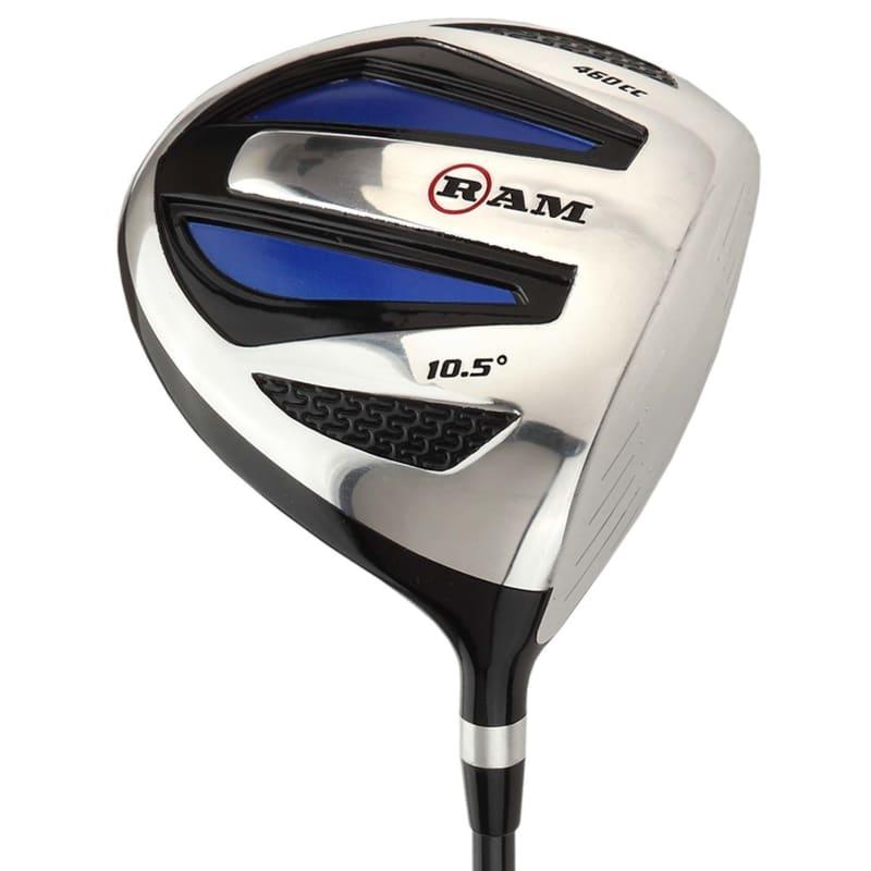 Ram Golf EZ3 Mens Golf Clubs Set with Stand Bag - Graphite/Steel Shafts #