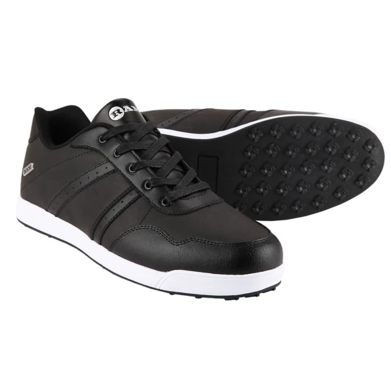 Ram Golf FX Comfort Mens Waterproof Golf Shoes - Black