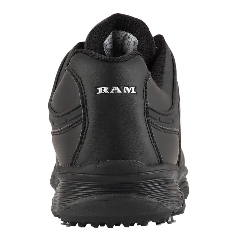 Ram Golf FX Tour Mens Waterproof Golf Shoes - Black #3
