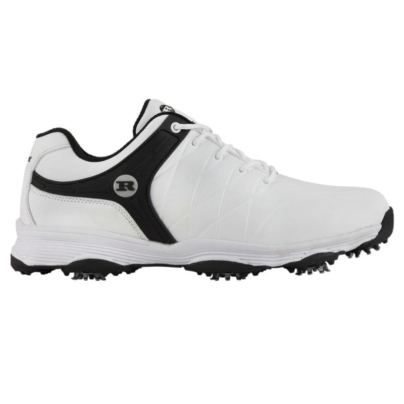 Ram Golf FX Tour Mens Waterproof Golf Shoes - White / Black #1
