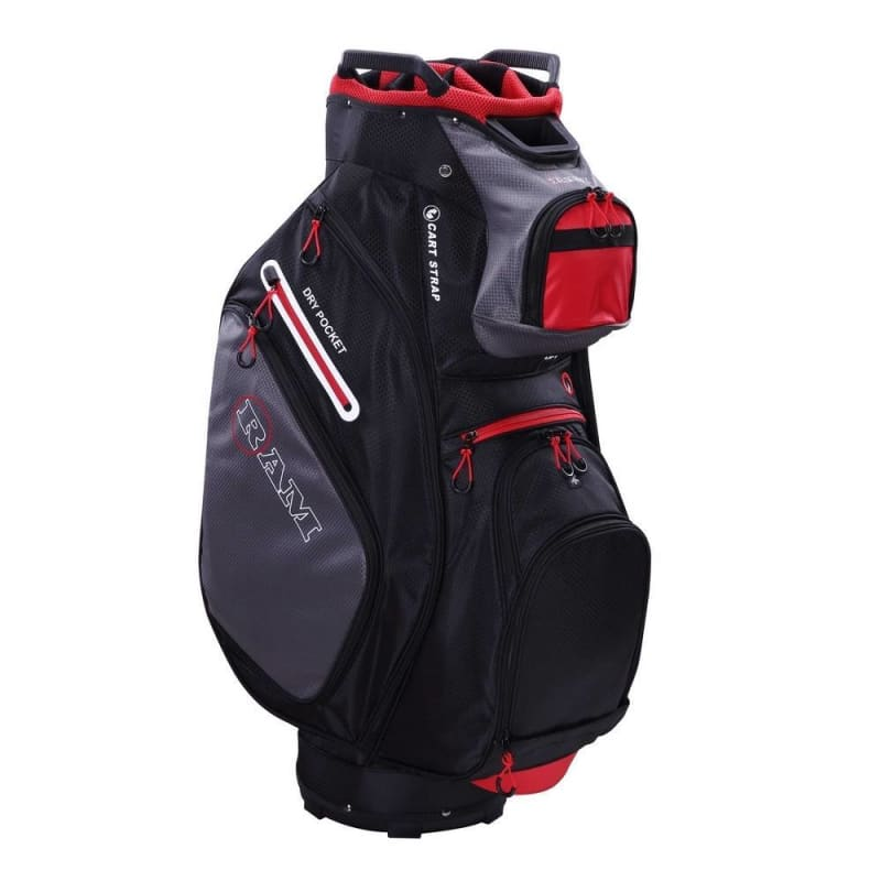 Ram Golf FX Deluxe Golf Cart Bag with 14 Way Dividers #