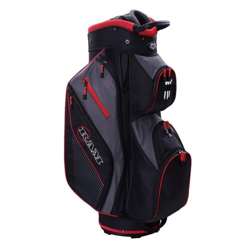 Ram Golf Lightweight Cart Bag with 14 Way Dividers #