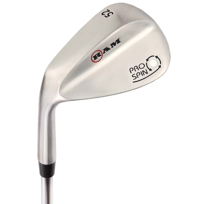 OPEN BOX Ram Golf Pro Spin 3 Wedge Set - 52° Gap, 56° Sand, 60° Lob Wedges - Mens Left Hand #
