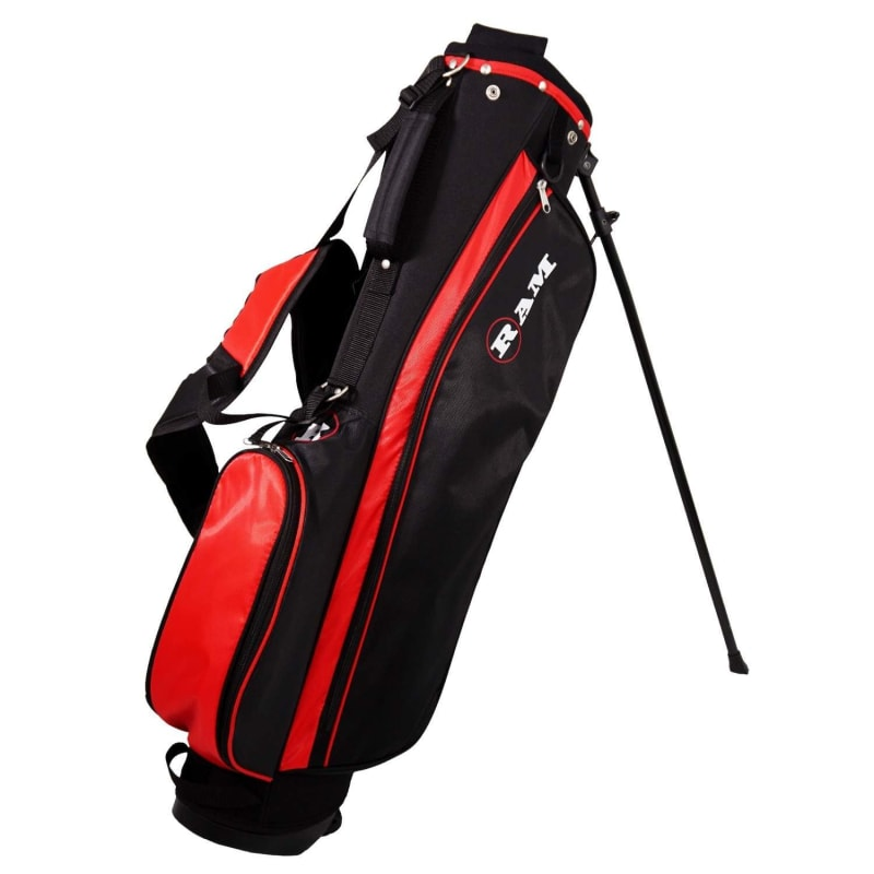 Ram Golf SGS Mens Golf Clubs Set with Stand Bag - Steel Shafts - LEFTY #6