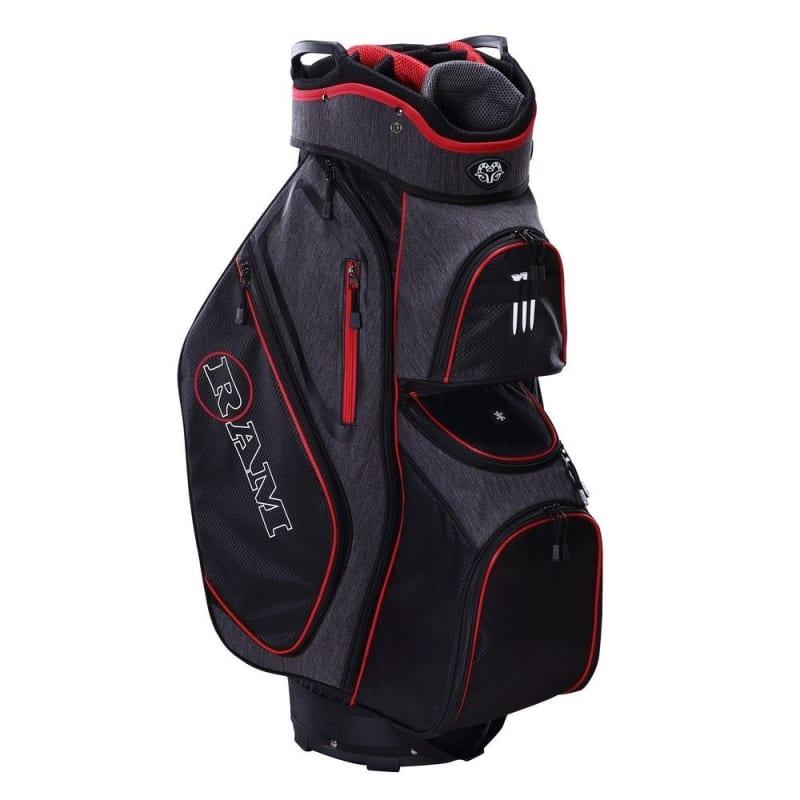 Ram Golf Tour Cart Bag with 14 Way Dividers Top #1