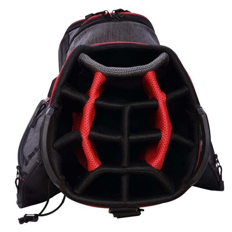 Ram Golf Tour Cart Bag with 14 Way Dividers Top #2